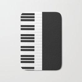 Piano Keys Badematte