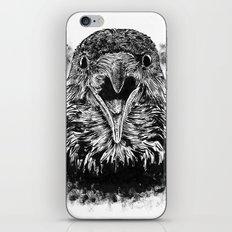Fuming Crow iPhone & iPod Skin