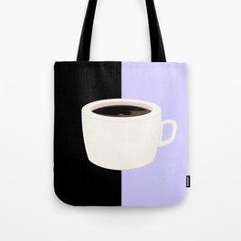 Lilac Coffee Tote Bag