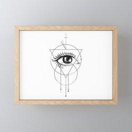 Eye of the Beholder Framed Mini Art Print