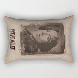 Oscar Wilde Rectangular Pillow