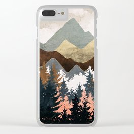 Forest View Clear iPhone Case