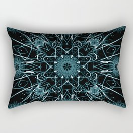 Radiance Of Thought Rectangular Pillow
