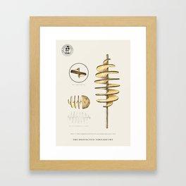 The Distinctive Tornado Potato Framed Art Print