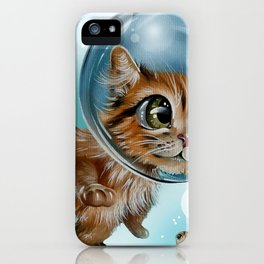 swimming charly iPhone Case