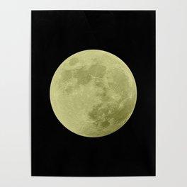 CANARY MOON // BLACK SKY Poster