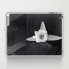 lilly black and white Laptop & iPad Skin