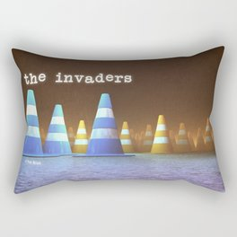 Gang of Cones  - The Invaders Rectangular Pillow