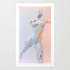ORIGAMI v1 Art Print
