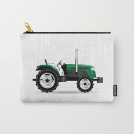 Green Isolated Tractor Carry-All Pouch