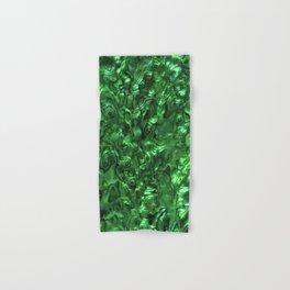 Abalone Shell | Paua Shell | Green Tint Hand & Bath Towel