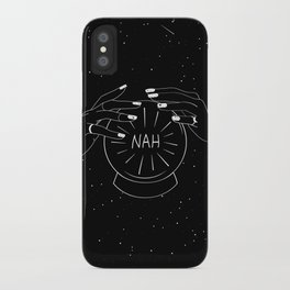 Nah future - crystal ball iPhone Case