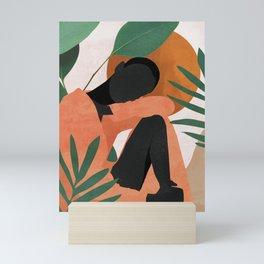 Tropical Girl 10 Mini Art Print