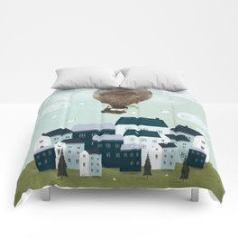 with the birds Comforters