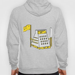 """""""Cheese Warrior"""" tee design. Perfect for cheese lover like you! Makes a nice gift to your family too Hoody"""