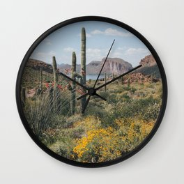 Arizona Spring Wall Clock