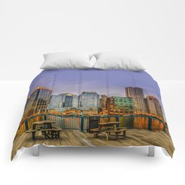 Boston Financial District Comforters
