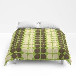 Retro leaf Comforters