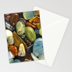 Jewel of the Little Gems - well actually polished stones...... Stationery Cards