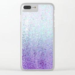 Summer Rain Dreams Clear iPhone Case