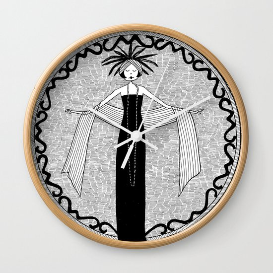 let the love that was once a fire remain an ember Wall Clock