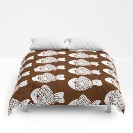 Fish Cake Comforters