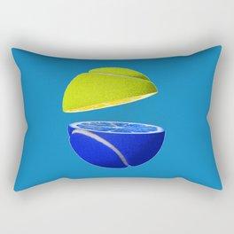 Tennis ball lemon Rectangular Pillow