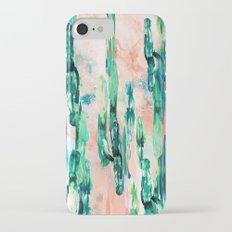 Sunset Cactus Slim Case iPhone 7