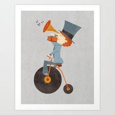 Rolling Old School Art Print