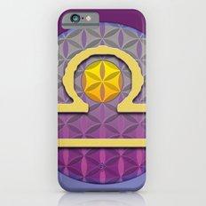 Flower of Life LIBRA Astrology Design iPhone 6s Slim Case
