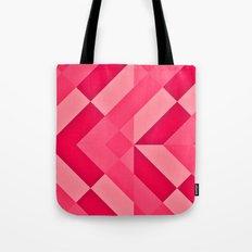 Shades of Pink abstract Tote Bag