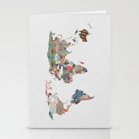 always Stationery Cards featuring Louis Armstrong Told Us So by Bianca Green
