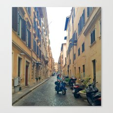 Italian Street 4 Canvas Print