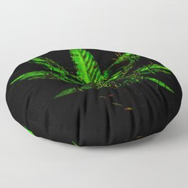 Pothead - Skull and Pot Plant Floor Pillow