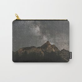 Milky Way Over Mountains - Landscape Photography Carry-All Pouch