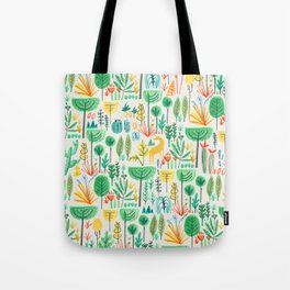 Jungle life with golden unicorn Tote Bag