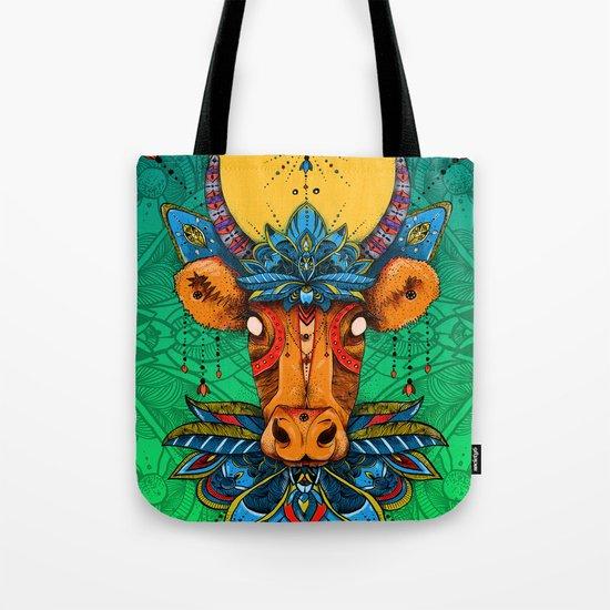Holy Cow! Lotus. Tote Bag