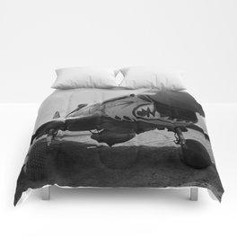 Vintage Fighter Comforters
