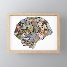 My Brain Looks Different Framed Mini Art Print