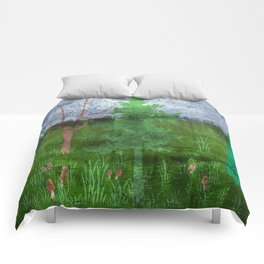 Mushroom hunt Comforters