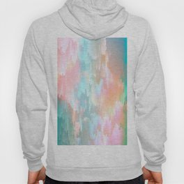 Candy Rainbow Glitch Fall #abstractart Hoody