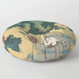Sado Cave of Two Lovers Floor Pillow