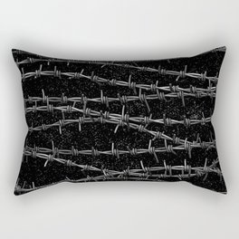 Bouquets of Barbed Wire Rectangular Pillow