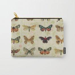 Moths & Butterflies Carry-All Pouch