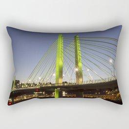 Tilikum Crossing Bridge 2 Rectangular Pillow