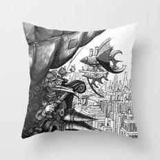 Sky Bird Throw Pillow
