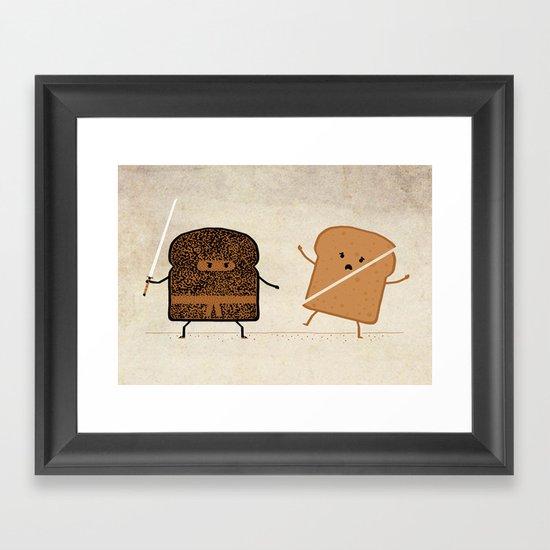 Slice! Framed Art Print