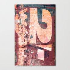 Collide 8 Canvas Print