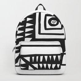 Tribal Print B&W- 02 Backpack