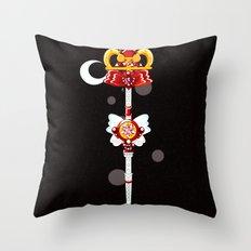 Eternal Wand Throw Pillow